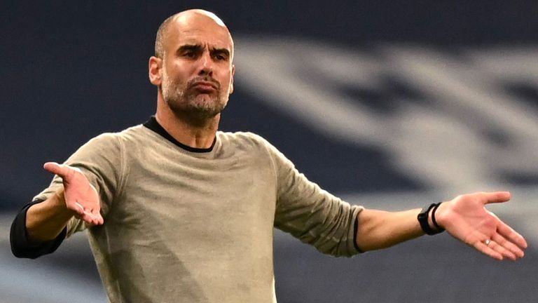 Pep Guardiola's Man City are favourites for the Champions League crown