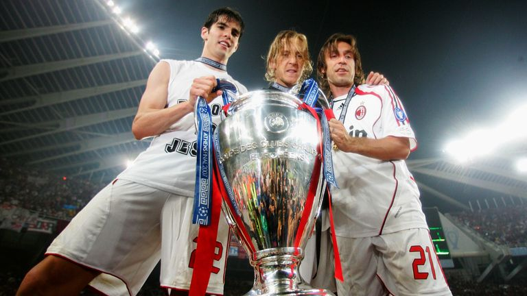 Pirlo tasted Champions League success with AC Milan in 2007 - can he bring the winning formula to Juventus as manager?