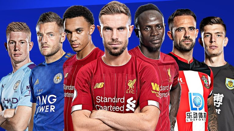 The seven nominees for the 2019/20 Premier League Player of the Season award