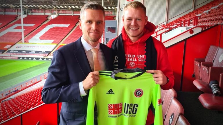Aaron Ramsdale joined Sheffield United for £18.5m earlier this month