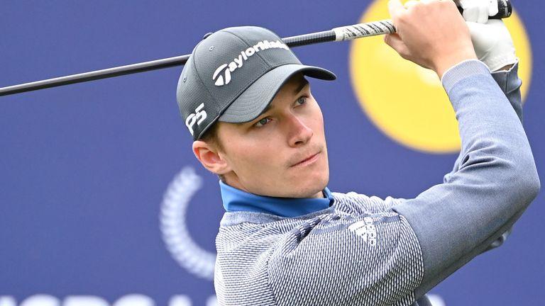 Rasmus Hojgaard won £60,000 for charity