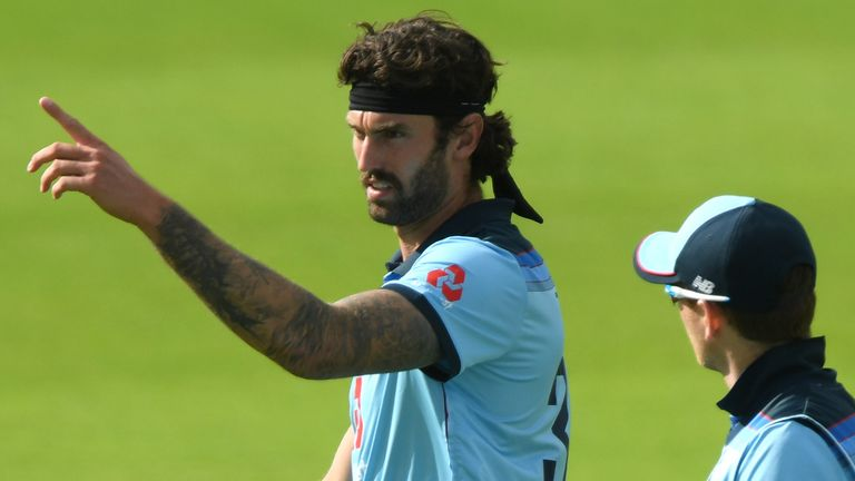 Reece Topley is out of the third England-Ireland ODI with a groin strain