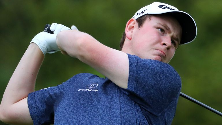 MacIntyre made an eagle, two birdies and a solitary bogey during his opening round