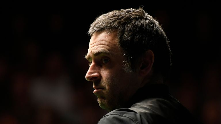 44-year-old Ronnie O'Sullivan will take on Thepchaiya Un-Nooh on Sunday