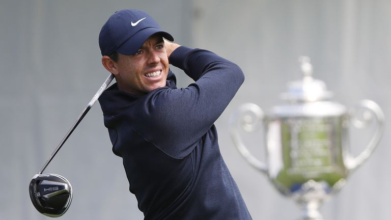 McIlroy is a two-time winner of the Wanamaker Trophy