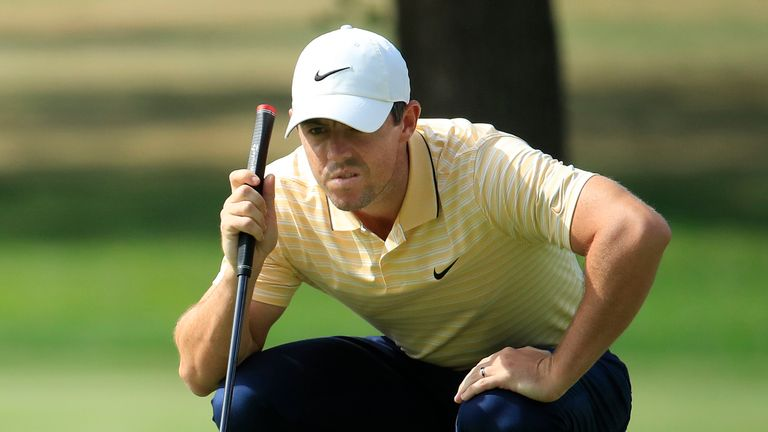 McIlroy goes into the final round three behind