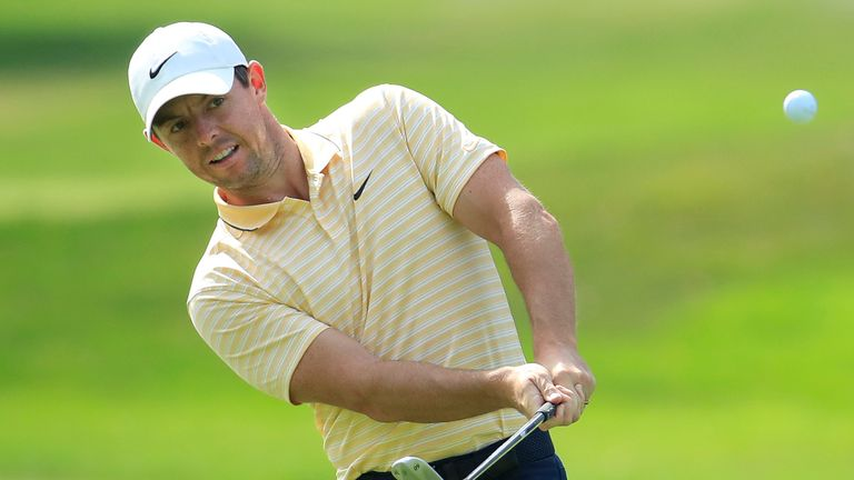 McIlroy is playing in his first major since becoming a father