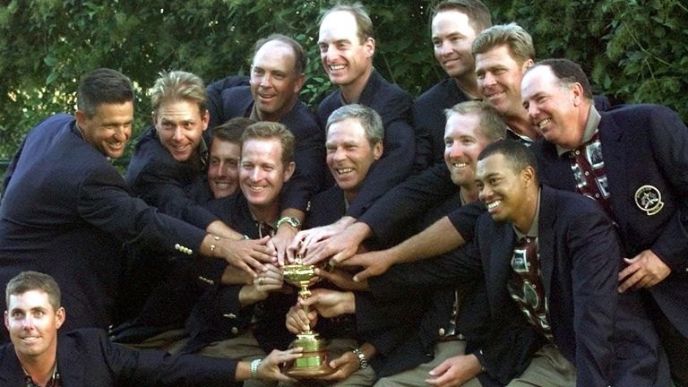Team USA have only won the Ryder Cup twice since their 1999 success
