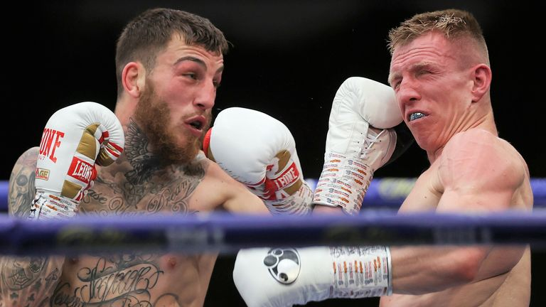 Eggington staged a determined fightback in the closing rounds