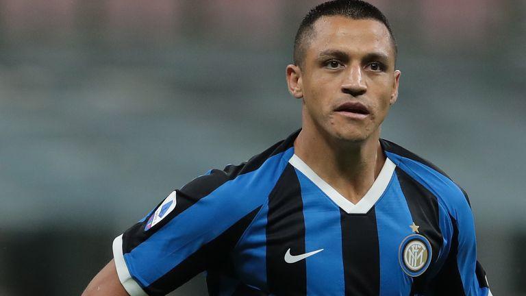 Alexis Sanchez has spent this season on loan at Inter Milan