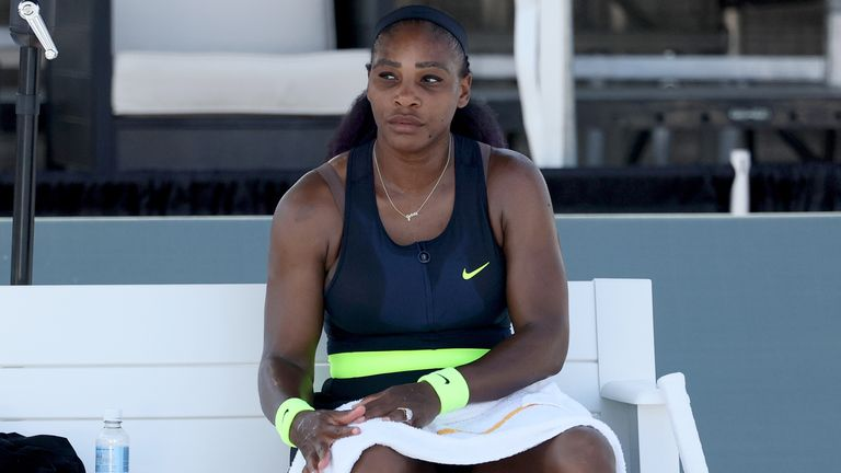 Serena Williams suffered a shock defeat to Shelby Rogers