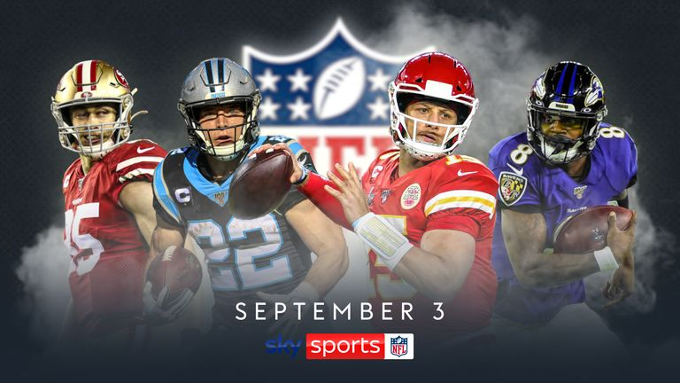Sky Sports NFL comes to your screens on September 3
