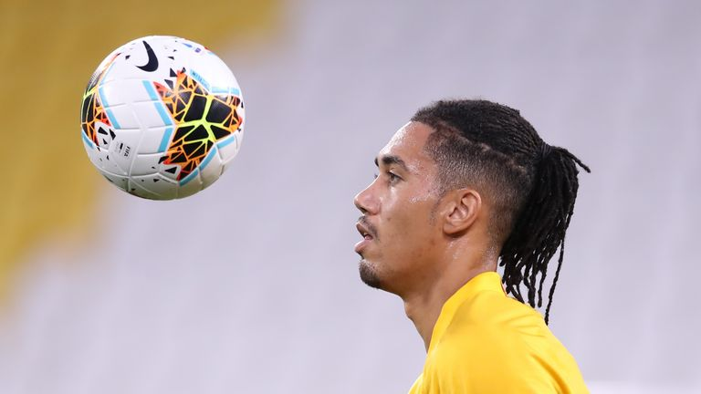 Chris Smalling is wanted by Newcastle