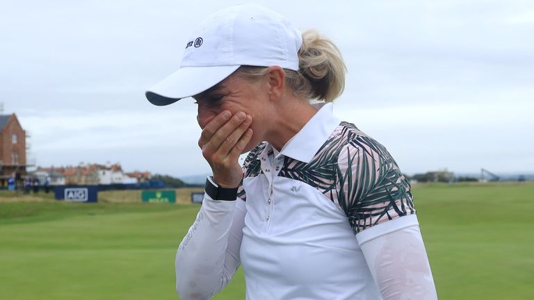 Popov claimed a two-shot victory at Royal Troon