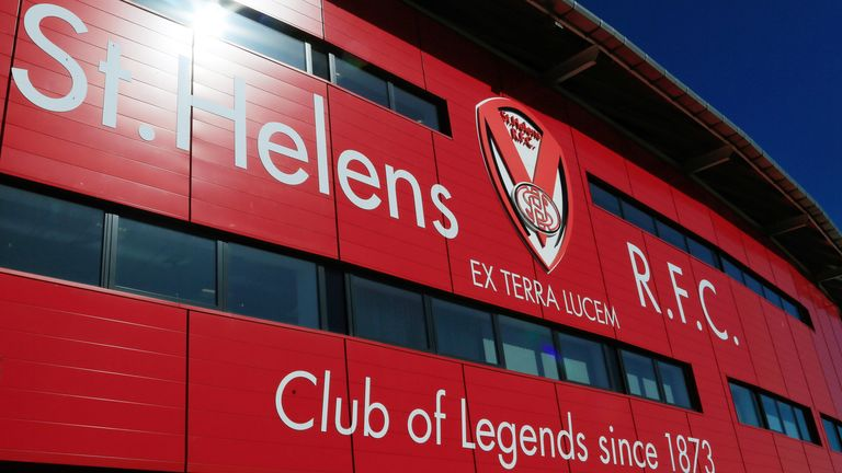 St Helens cancelled training after a staff member tested positive at the start of the week