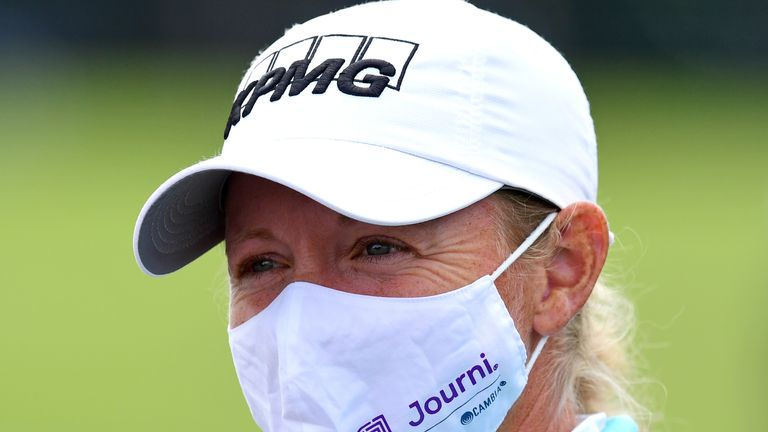 Lewis is chasing a first LPGA Tour victory since 2017