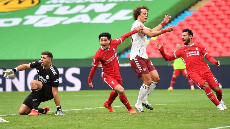 Takumi Minamino impressed for Liverpool