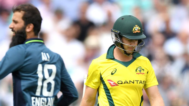 Australia lost 5-0 in their five-match ODI series against England in 2018