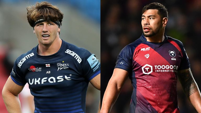 Tom Curry and Sale will host Charles Piutau and Bristol in a crucial Premiership clash this weekend