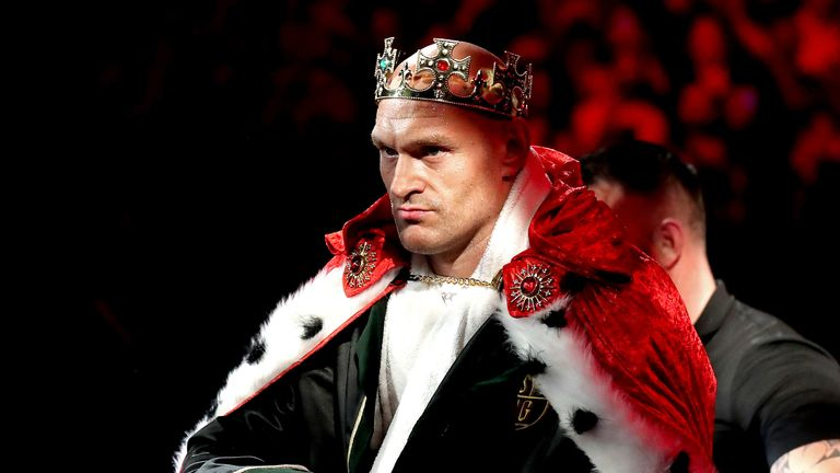 Tyson Fury previously travelled to Saudi Arabia to take part in a WWE event