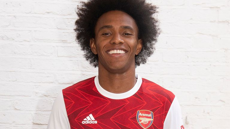 Willian has joined Arsenal on a three-year deal
