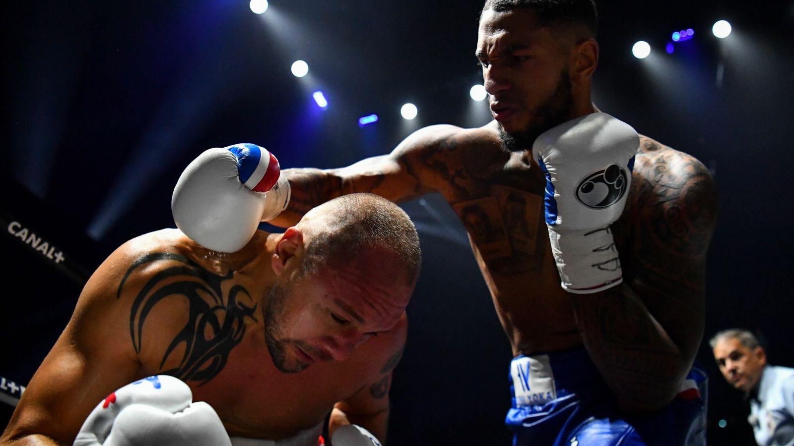 Tony Yoka knocks out Johann Duhaupas in first round of heavyweight clash