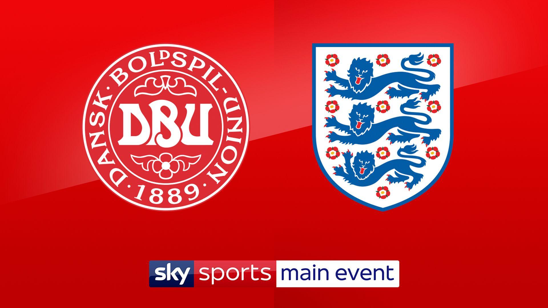 Denmark vs England LIVE!
