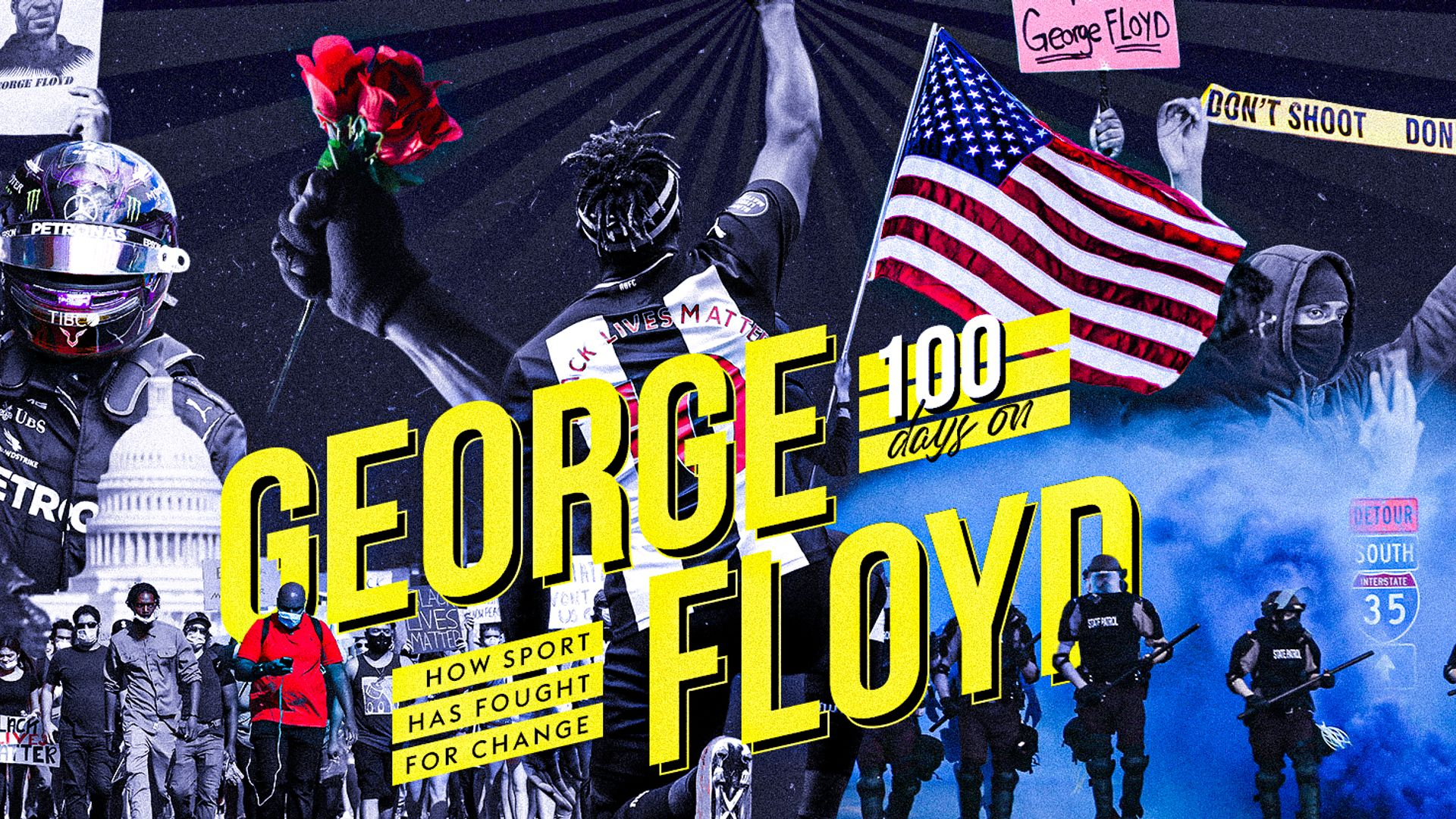 George Floyd's death: 100 days on
