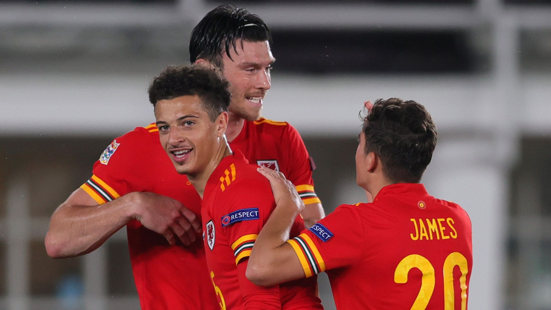 Late Moore goal gives Wales perfect start