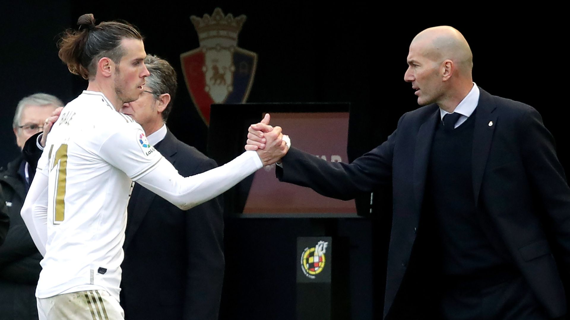 Zidane: Never a problem with Bale - sky sports