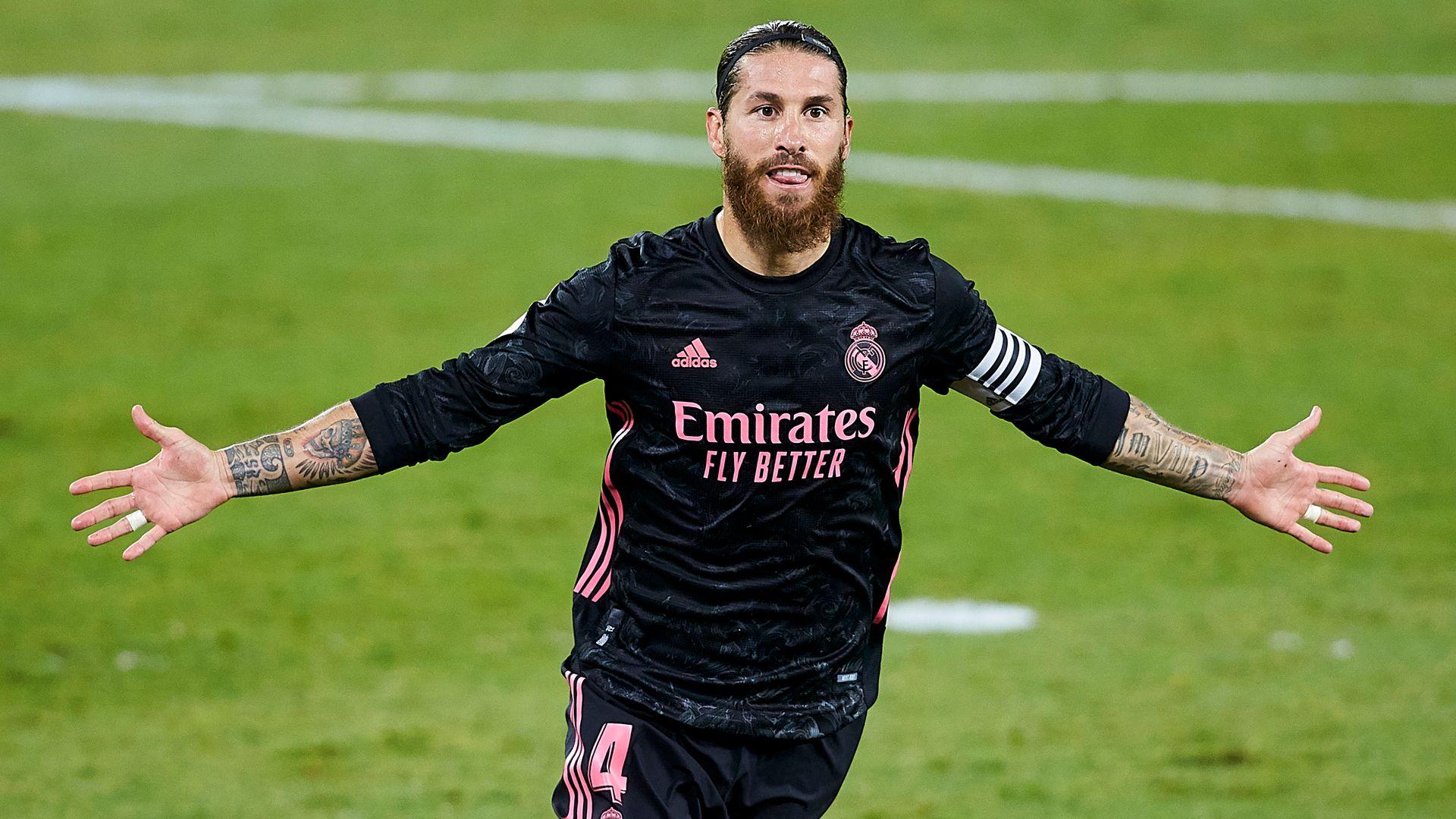 Ramos seals Real's first win of season