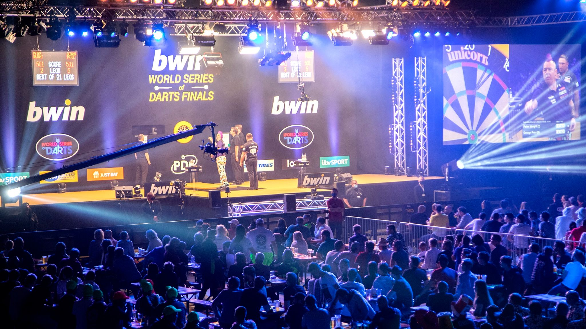 World Series of Darts Finals: Gerwyn Price beats Rob Cross to ...