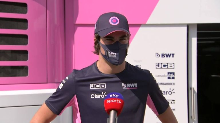 Lance Stroll speaks to Sky Sports News' Craig Slater about his podium finish at Monza and the news Vettel will be his team-mate in 2021