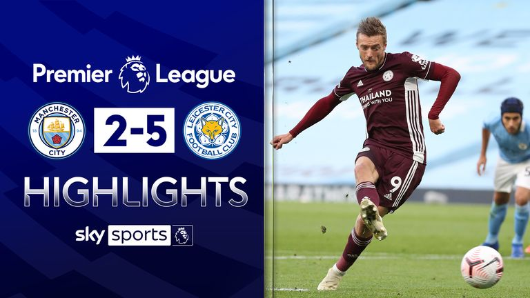 FREE TO WATCH: Highlights from Leicester City's win over Manchester City in the Premier League