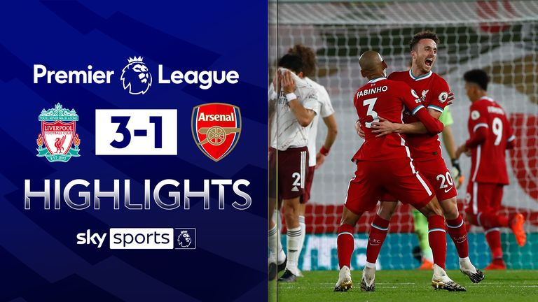 FREE TO WATCH: Highlights from Liverpool's win against Arsenal