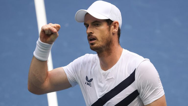 Andy Murray came back from two sets to love and a break down