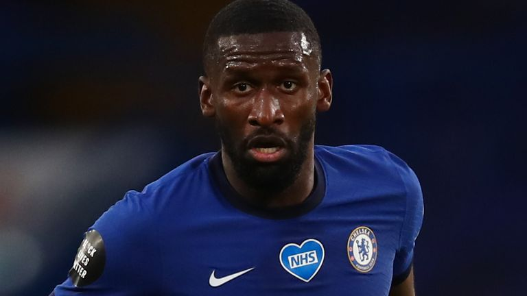 Antonio Rudiger was left out of Chelsea's squad to face Barnsley in the Carabao Cup on Wednesday