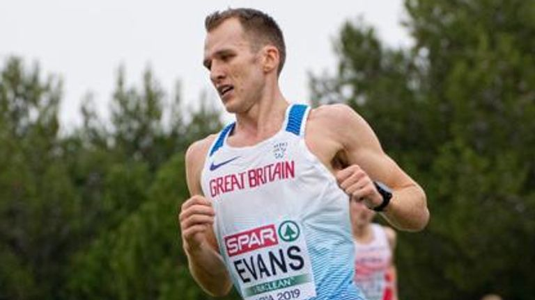 Tom Evans is hoping to be picked for the marathon at the Tokyo Olympics