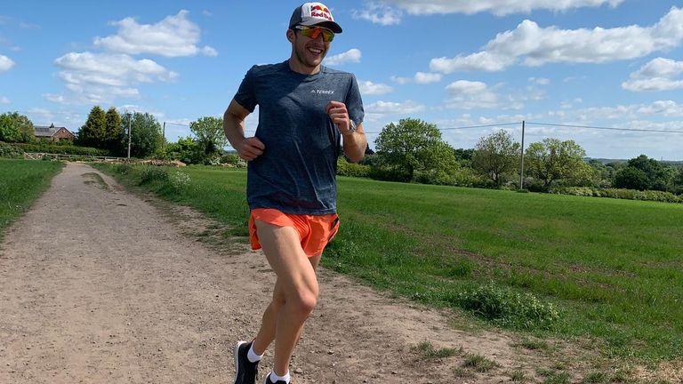 Evans' favourite distance race is 100k