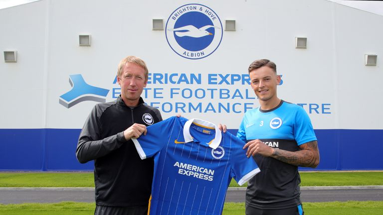 White recently signed a new four-year contract with Brighton