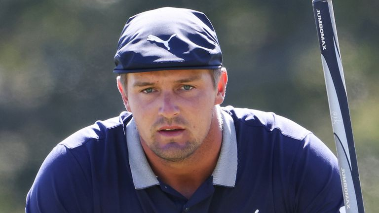 DeChambeau starts the final round two off the lead