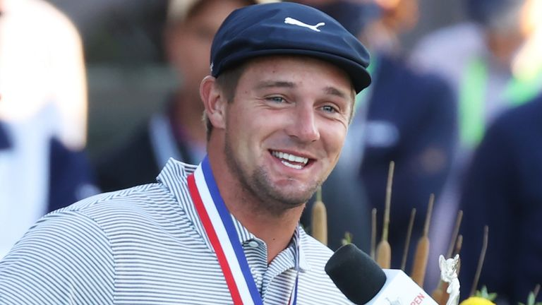 DeChambeau reflects on securing a maiden major title with a six-shot victory at the US Open