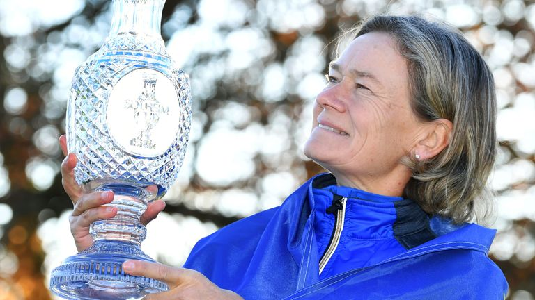 Catriona Matthew will captain Team Europe for a second time, having made nine Solheim Cup appearances as a player