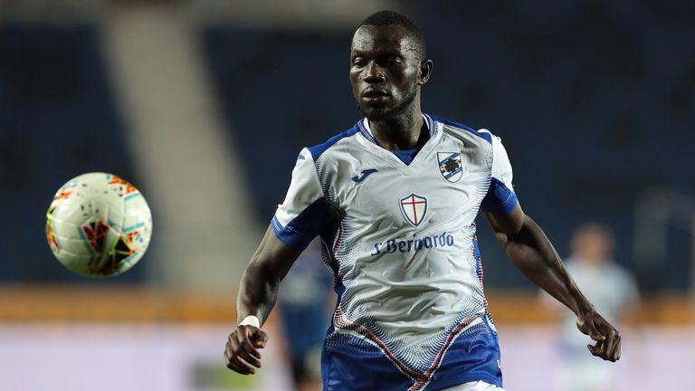 Sampdoria value Omar Colley at £10m