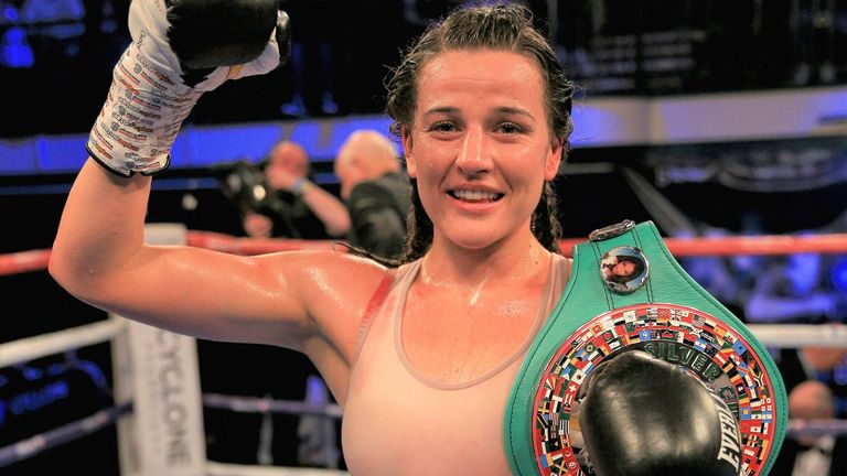 Chantelle Cameron is awaiting confirmation of WBC title fight