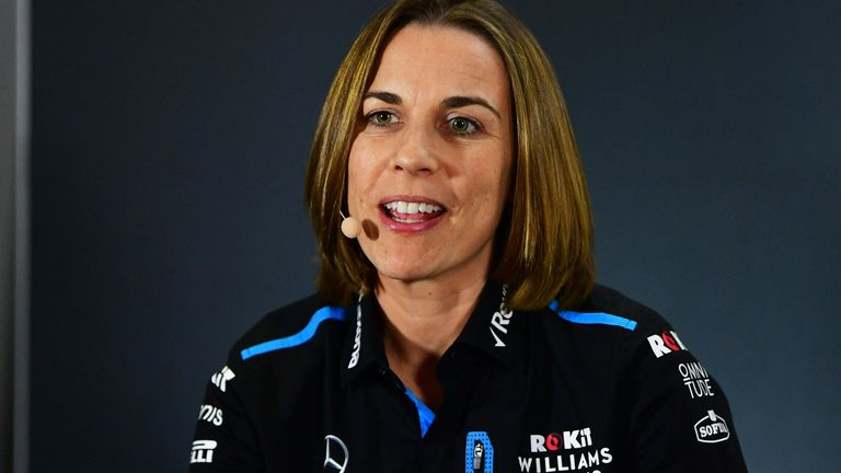 Claire Williams announced she was stepping down as deputy team principal of the F1 team on Thursday