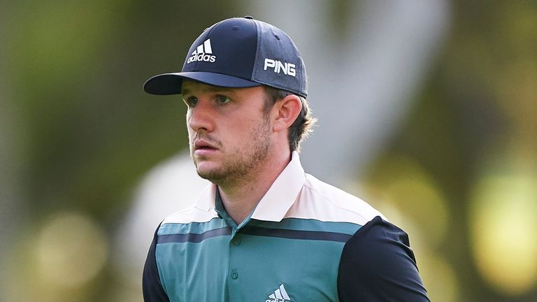 Syme birdied the final three holes to card a 69