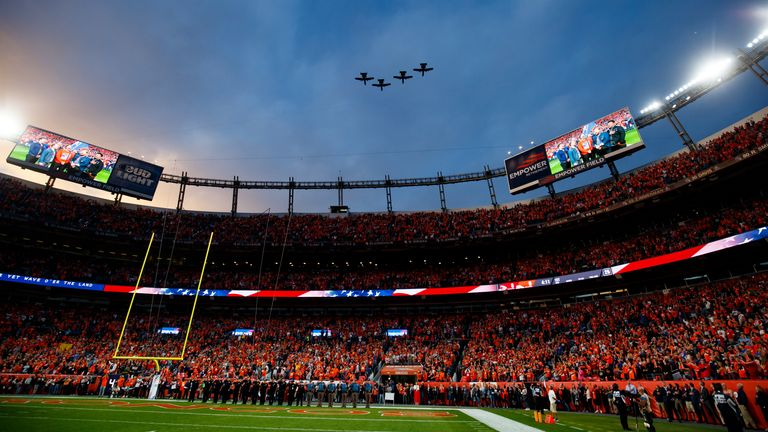 Around 5,700 fans will be allowed inside Empower Field for Broncos' game against the Tampa Bay Buccaneers