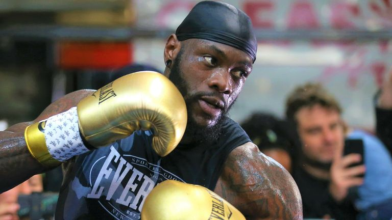Deontay Wilder is preparing for a third fight with Tyson Fury