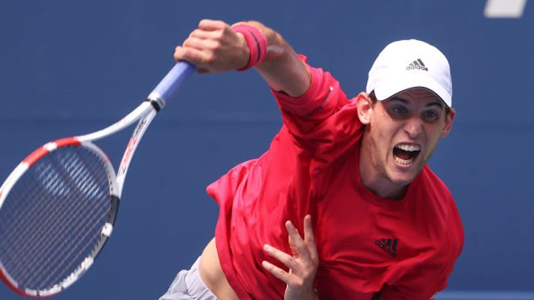 Dominic Thiem will face former champion Marin Cilic in the third round